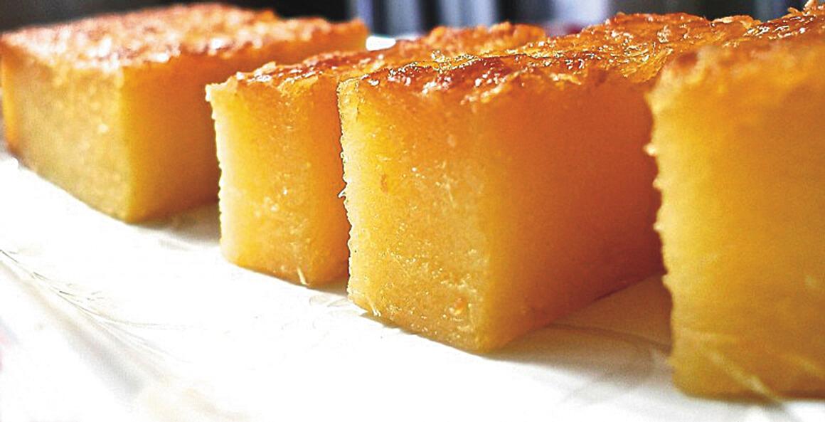 Filipino Cassava Cake Calories