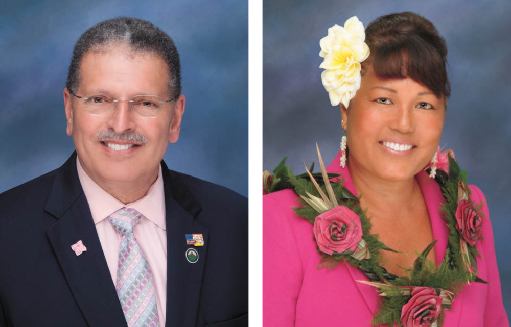 a77b8a665f3e The two top vote-getters in the primary election for Maui county mayor,  Michael Victorino and Elle Cochran, will be moving on to the November  general ...